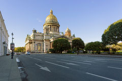 Isaac Cathedral in St. Petersburg Royalty Free Stock Photo