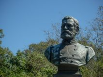 Isaac F Quinby Bust Civil War Memorial royalty free stock photos