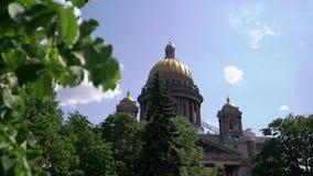 Isaac katedra w Petersburg zdjęcie wideo