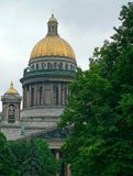 isaac katedralny święty Russia s Obrazy Royalty Free