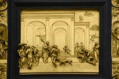 Isaac met Esau en Jacob royalty-vrije stock fotografie