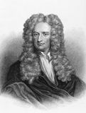 Isaac Newton foto de stock royalty free