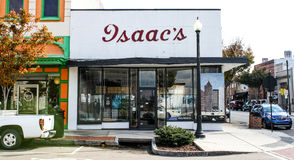 Isaac's Mens Store, Wilmington, NC. Royalty Free Stock Photo