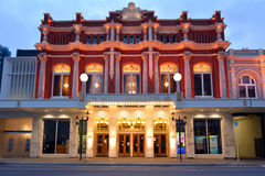 Isaac Theatre Royal em Christchurch Nova Zelândia Imagem de Stock Royalty Free