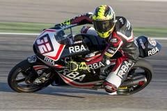 Isaac VIÑALES. Moto3. Grand Prix Movistar of Aragón Stock Image