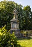 Isaac Watts Monument, Wattspark, Southampton, Hampshire, Engeland, het UK royalty-vrije stock foto