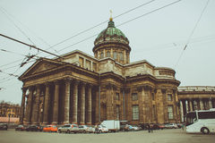 Isaacs cathedral. The greatest cathedral in Saint-Petersburg. The hero of second world war royalty free stock image