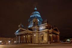 isaak собора Стоковое Изображение