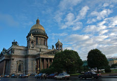 Isaak cathedral. In saint petersburg Stock Photography