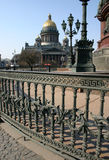 Isaak Kathedrale lizenzfreie stockfotos