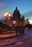 Isaakievskij uma catedral Imagem de Stock