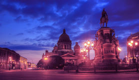 Isaakivsky Cathedral, St. Petersburg, Russia Royalty Free Stock Photography