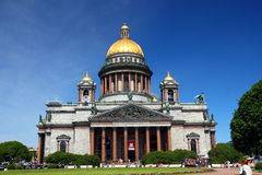 Isaakiy cathedral in Saint-petersburg Royalty Free Stock Photography