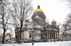 Isaakiyevskiy cathedral Stock Photos
