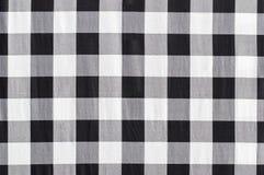 Isaan noir et blanc tissé Photo libre de droits