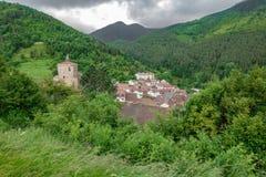 Isaba by i Navarre Royaltyfria Foton