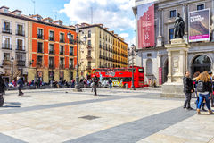 Isabel II Square  in Madrid. Stock Image