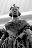 Isabel II statue Royalty Free Stock Photography