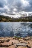 Isabel Kolorado Jeziorny zmierzch zdjęcie royalty free