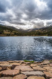 Isabel Lake Colorado Sunset royaltyfri foto