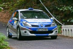 Isabel Ramos em Rallye Centro de Portugal Foto de Stock