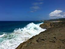 Isabela Beach Puerto Rico Royaltyfria Foton