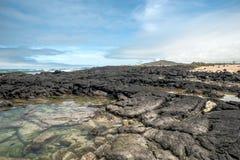 Isabela Island - is the largest island of the Galapagos Stock Image