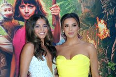 Isabela Moner and Eva Longoria