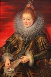 Isabella Clara Eugenia - målning vid Rubens & x28; 16th Century& x29; Arkivfoto