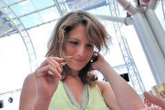 Isabella Ragonese al Giffoni Ekranowy festiwal 2010 Fotografia Royalty Free