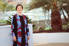 Isabella Rossellini. Attends the 'Jury Un Certain Regard' photocall during the 68th annual Cannes Film Festival on May 14, 2015 in Cannes, France royalty free stock photography