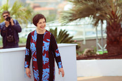Isabella Rossellini. Attends the 'Jury Un Certain Regard' photocall during the 68th annual Cannes Film Festival on May 14, 2015 in Cannes, France stock image