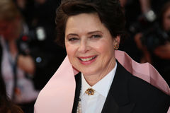 Isabella Rossellini. Attends the 'Macbeth' Premiere during the 68th annual Cannes Film Festival on May 23, 2015 in Cannes, France Royalty Free Stock Photos