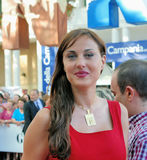 Isabelle Adriani al Giffoni Film Festival 2011 Stockfotografie