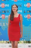 Isabelle Adriani al Giffoni Film Festival 2011 Lizenzfreies Stockbild