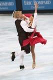 Isabelle Delobel e Olivier S fotografia stock