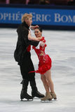 Isabelle Delobel-Olivier Schoenfelder (FRA) Royalty Free Stock Photos