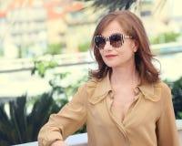 Isabelle Huppert assiste al ` di Elle del ` Immagine Stock