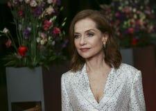 Isabelle Huppert assiste al ` di Eva del ` Fotografie Stock
