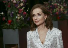 Isabelle Huppert atende ao ` de Eva do ` Fotos de Stock