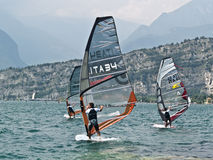 ISAF - Slalom World Championsh. World Championships Junior, Youth & Masters and Prokids Slalom July 7th - 14th in Lake Garda, Italy royalty free stock image