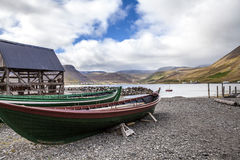 Isafjordur-fishing-boat Stock Image