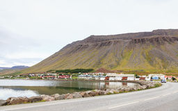 Isafjordur Waterfront Stock Photo