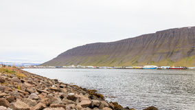 Isafjordur Waterfront Stock Photography