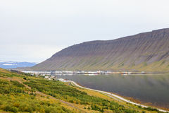 Isafjordur Waterfront Royalty Free Stock Photos