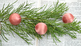 Isaiah 9, υπόβαθρο Χριστουγέννων Στοκ Φωτογραφία