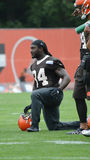 Isaiah Crowell Cleveland Browns photos libres de droits