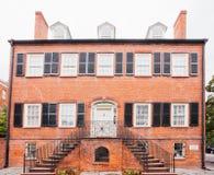 Isaiah Davenport House Museum Savannah Geórgia E.U. fotos de stock