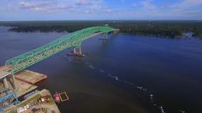 Isaiah David Hart Bridge stock video