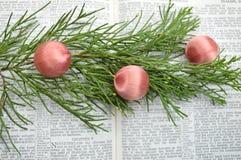 Isaiah 9, fundo do Natal Imagem de Stock